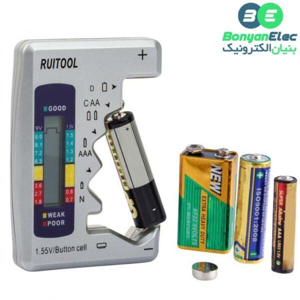 تستر باتری دیجیتالی